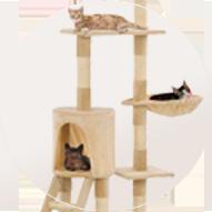 Accesorio para gato rascador árbol grande