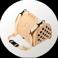 Transportin para gato blando tipo bolsa