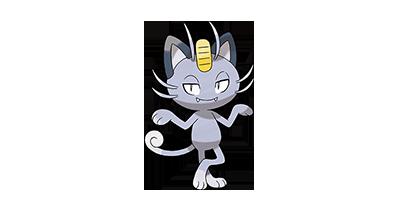 052 Meowth nombres gatos pokémon en forma de Alola