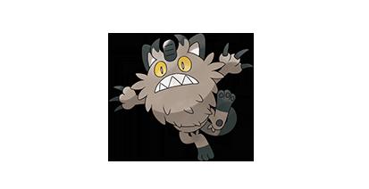 052 Meowth nombres gatos pokémon en forma de Galar