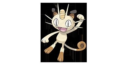 052 Meowth nombres gatos pokémon