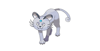 053 Persian forma Alola Nombres de gatos pokémon