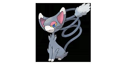 431 Gato Pokémon Glameow