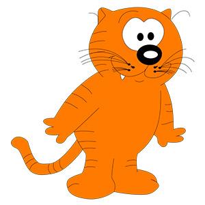 Isidoro nombre de gato famoso de dibujos animados