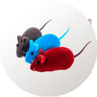 juguetes gatos ratón