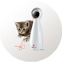 juguetes interactivo gatos láser