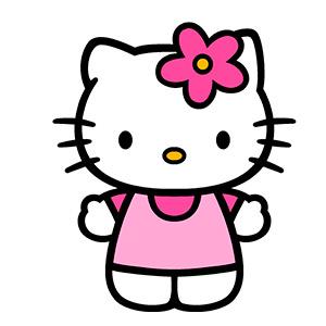 Kitty nombre de gatita famosa de dibujos animados