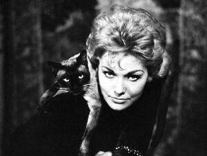 © Columbia Pictures Pyewacket en Me enamore de una bruja Nombres de gatos del mundo del cine