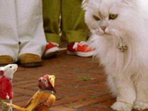 Snowbell Bola de nieve en Stuart Little Nombres de gatos del mundo del cine