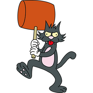 Pica nombre de gato famoso de la serie animada los simpsons