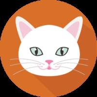 icono Nuca gato blanco