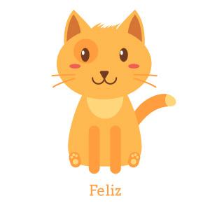 lenguaje gatos adoptantes feliz