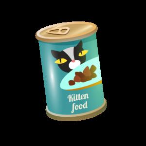 Comida húmeda latas gatitos