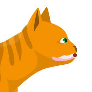 comida y gatos: comportamiento en la alimentación.Prensión labial